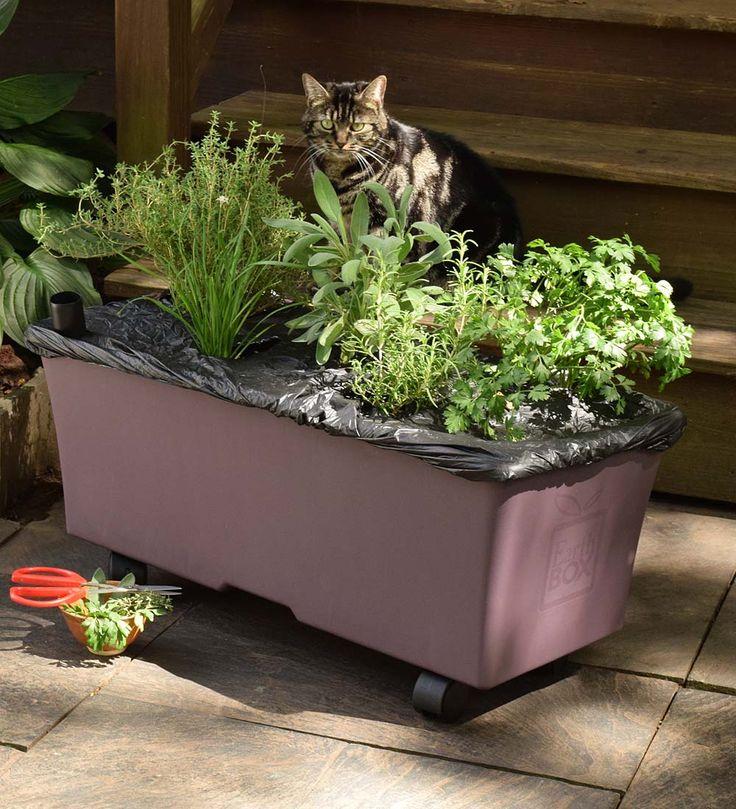 Earthbox Easy Garden Kit Deck Planters Earthbox Garden