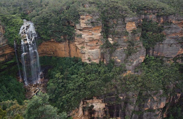 Wentworth Falls, Blue Mountains National Park. Photo: Steve Alton/OEH.