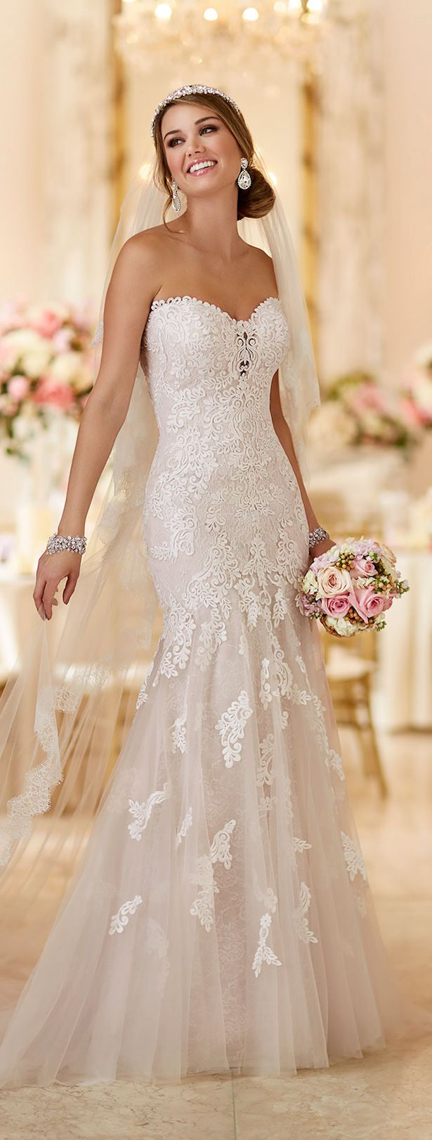 Best 25 lace mermaid dresses ideas on pinterest lace long stella york spring 2016 bridal collection ombrellifo Choice Image