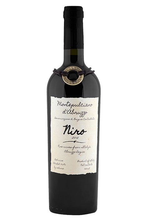 2016 Niro, Montepulciano D'Abruzzo | Like you got stuck in a blackberry bush and found wine while you were in there. It's jammy, earthy, and slightly smoky.
