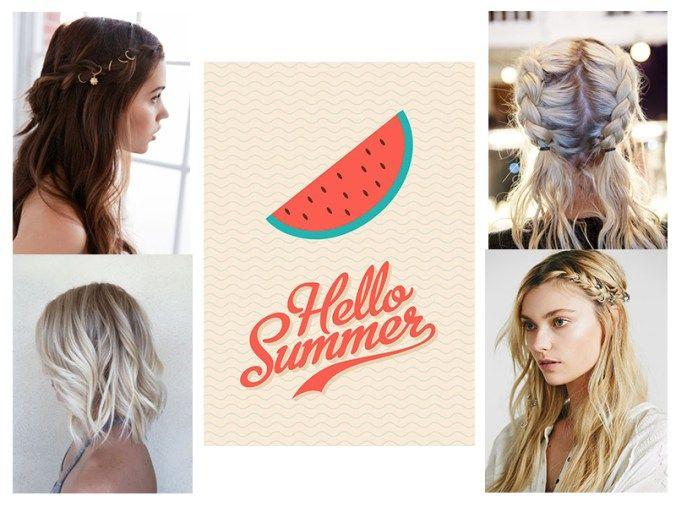 sommerfrisyrer, sommerhår, festivalhår, sommer, fin på håret, hårblogger