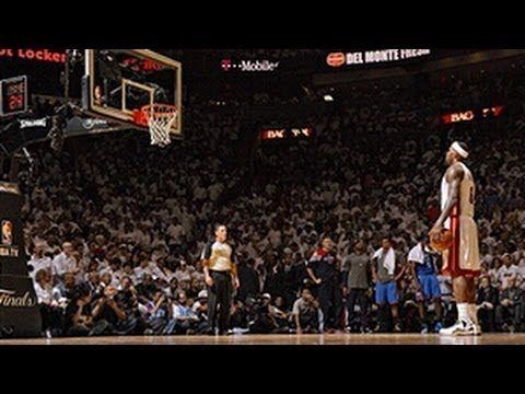 ▶ LeBron James' Top 10 Plays of his Career - YouTube -- #ProBasketballMiamiHeat