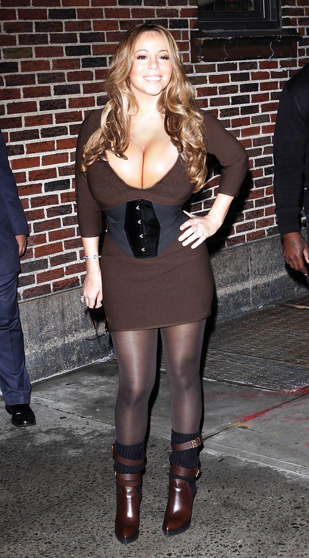 Something Mariah carey huge tits