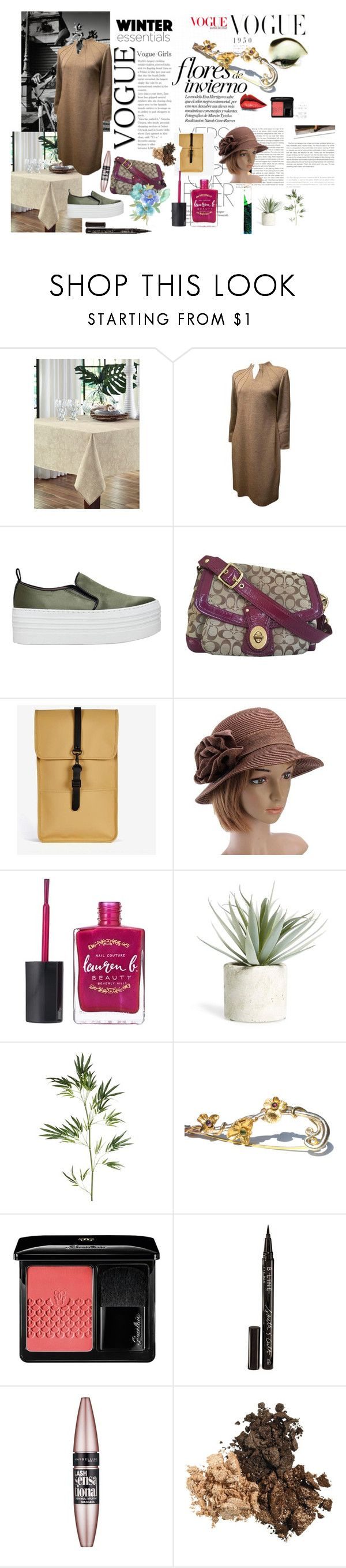 """""""Example set for 'Worthy of a sack dress!' contest!/Sack dress"""" by sarah-m-smith ❤ liked on Polyvore featuring Stop Staring!, Fraîche Maison, Burton, Carolina Herrera, KG Kurt Geiger, Coach, Chanel, Rains, Lauren B. Beauty and Allstate Floral"""