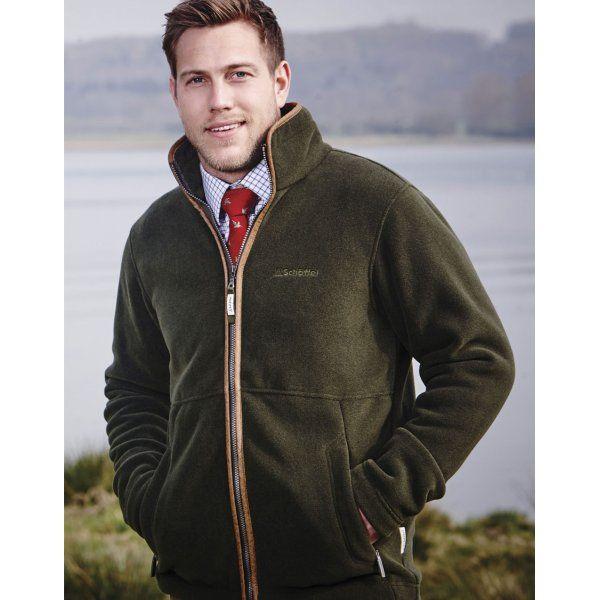 Schoffel   Cottesmore Fleece Jacket   Dark Olive