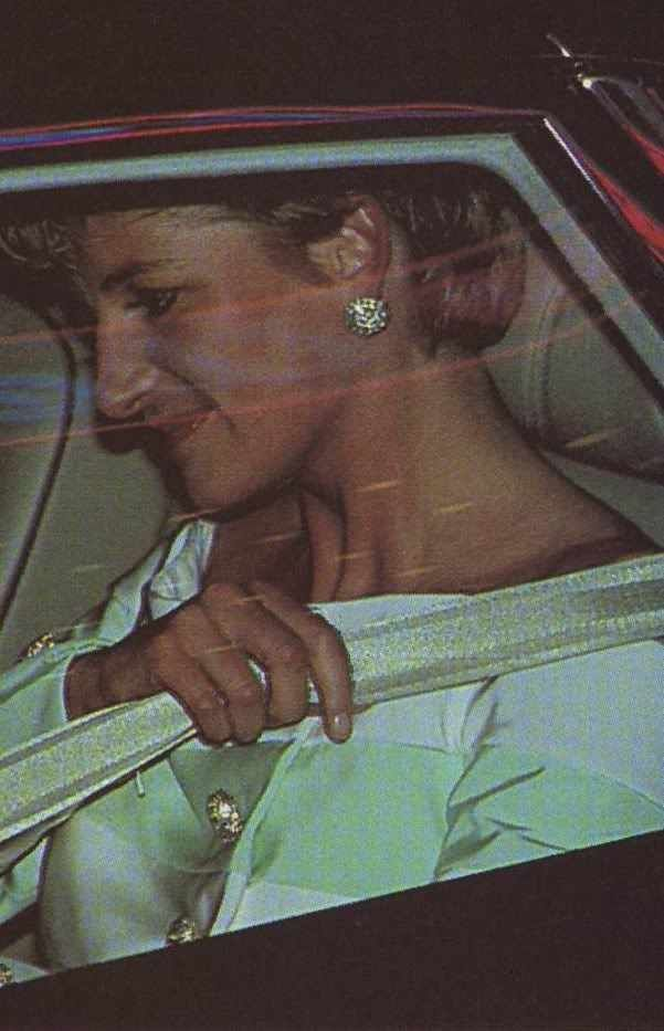 Diana Car Crash Seat Belt