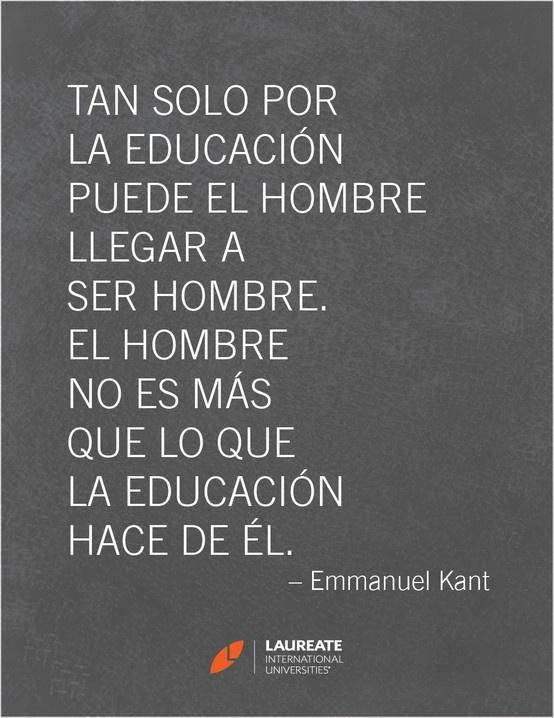 Emmanuel Kant fue un filósofo prusiano de la Ilustración. Es el precursor del idealismo alemán y más importante representante del criticismo; considerado como uno de los pensadores más influyentes de la Europa moderna y de la filosofía universal.