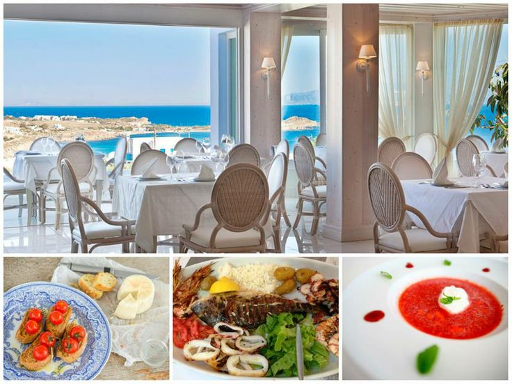 Whet your appetite with the delights of the Myconian gastronomy! - at Palladium's Thymare Restaurant