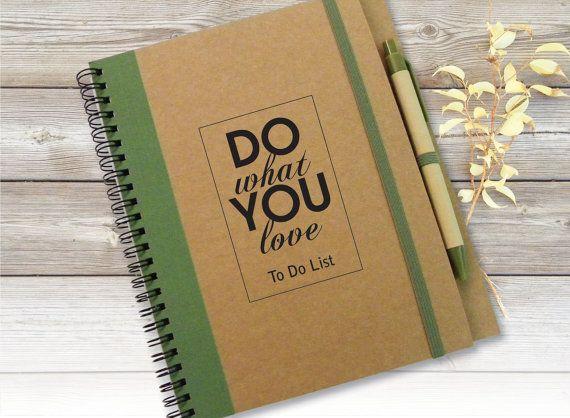 Custom Quote Journal, Sketchbook, Gift Idea, Customized Journal, Custom Notebook, To Do List Notebook, Writing Journal, Spiral Notebook