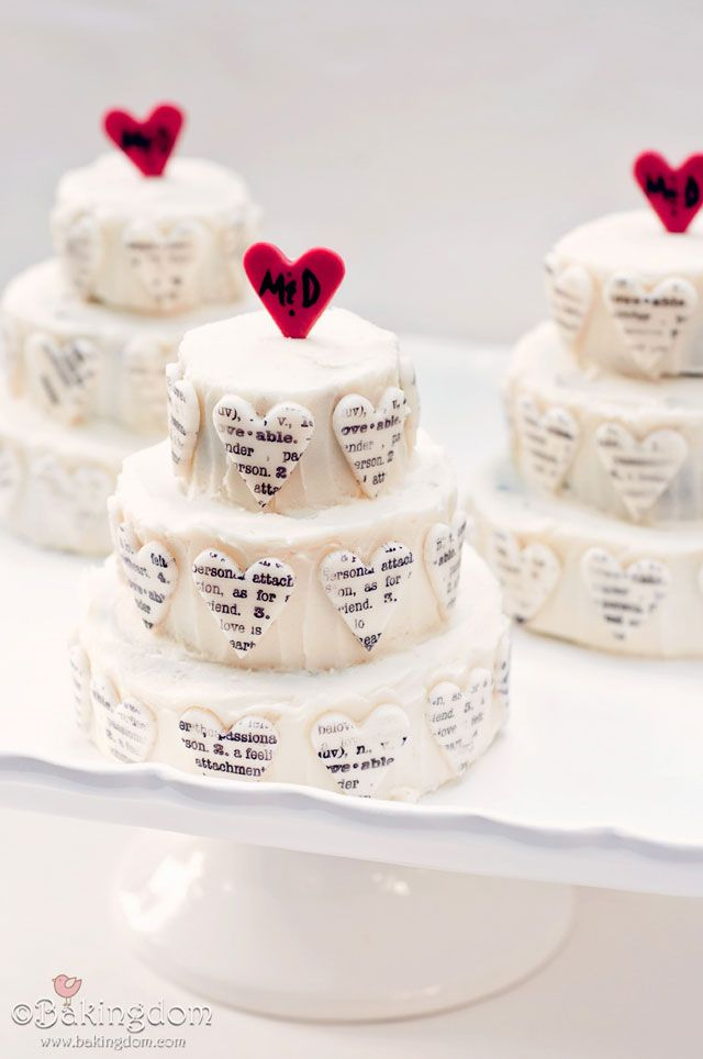 198 best anniversary cakes images on pinterest cake wedding mini typography anniversary cakes very cool idea using stamp and cookie cutter negle Image collections