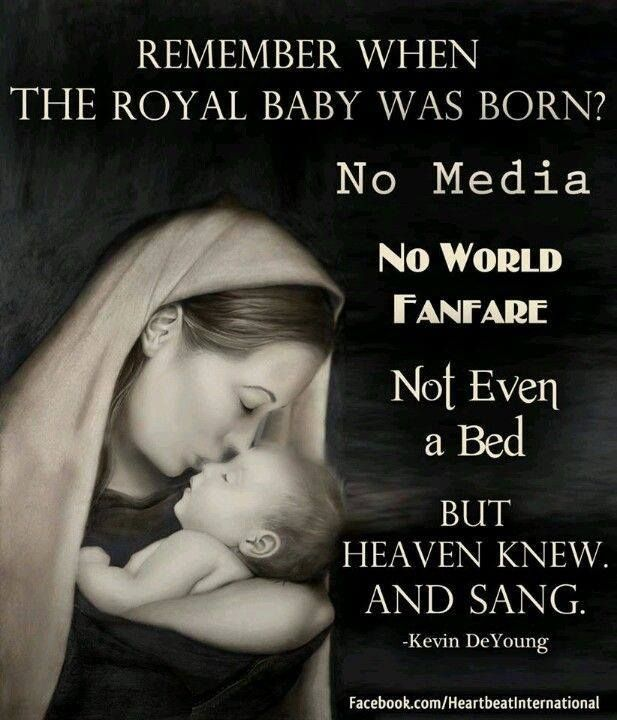 THE Royal Baby (Jesus, The King Of Kings) Was Born