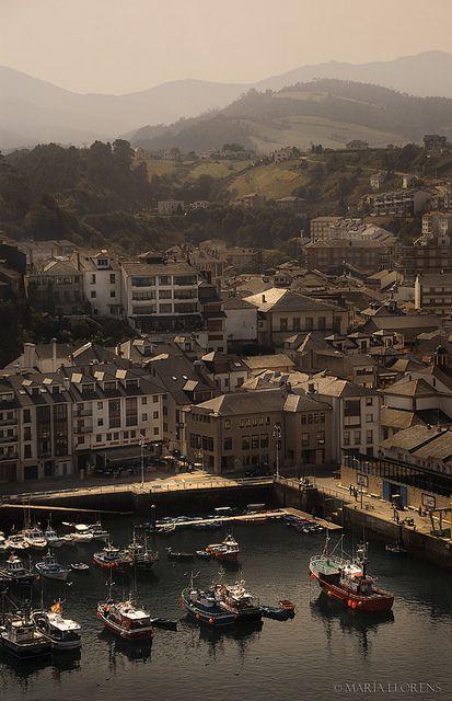 Luarca. Asturias. Spain