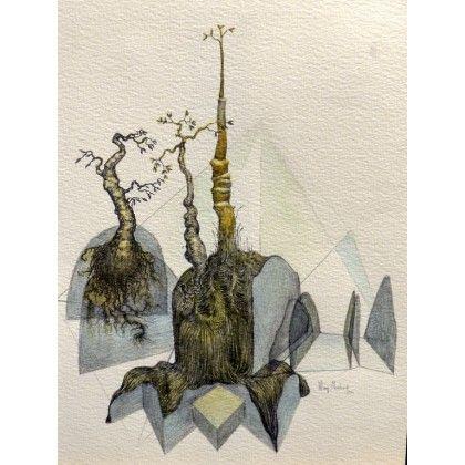 Schéma en colline #art #watercolor