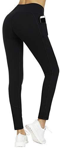 30a42a04d8f5d LifeSky High Waist Yoga Pants for Women with Pockets Workout Leggings Tummy  Control 4 Way Stretch Soft Active Pants #pants #leggins