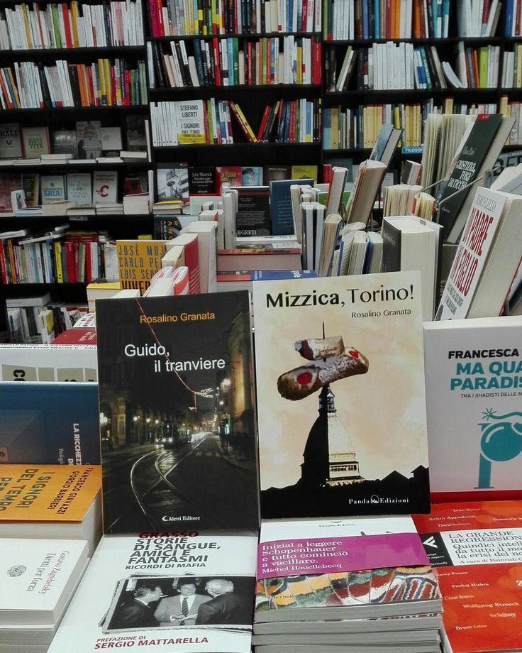 """Presso la libreria """"Gulliver"""", via Boston, 30, Torino, troverete i miei due romanzi: #guidoiltranviere e #mizzicatorino!, le vacanze si avvicinano, una buona lettura non può dispiacere, cosa aspettate? Correte in libreria!"""