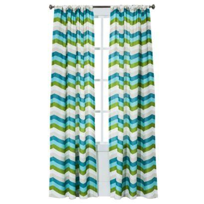 Target Room Essentials Chesapeake Zigzag Window Panel Pair 42x84 Curtains Pinterest