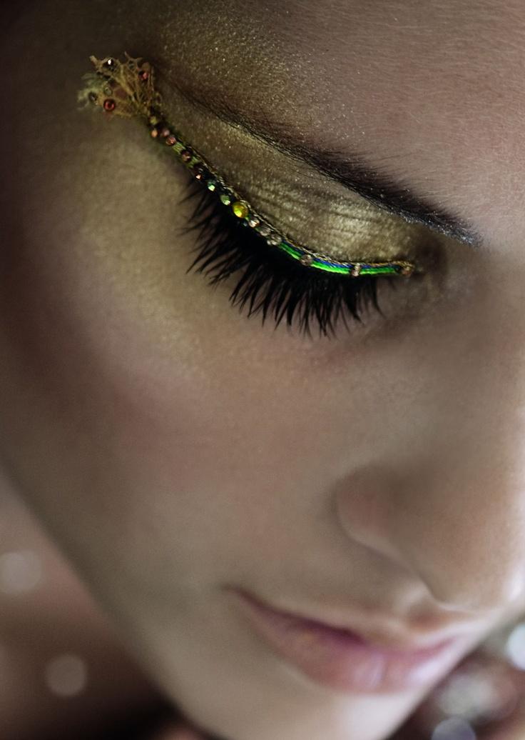False Eyelashes by Melinda Looi for Shu Uemura made with SWAROVSKI ELEMENTS