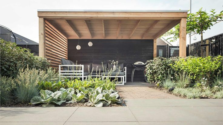 Country Wood Carports : Best images about veranda berging overkapping