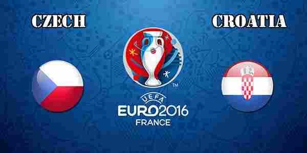 Czech Republic Vs Croatia Uefa Euro 2016
