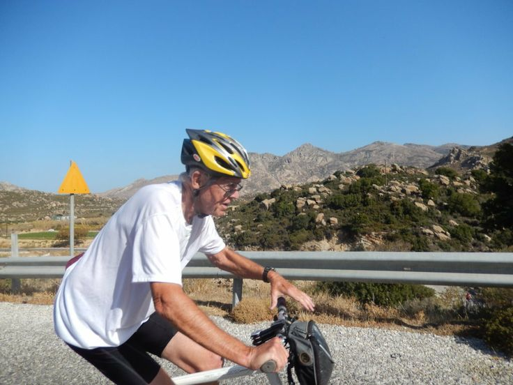 Dave of Minneapolis is headed towards the adorable little village of Halki.
