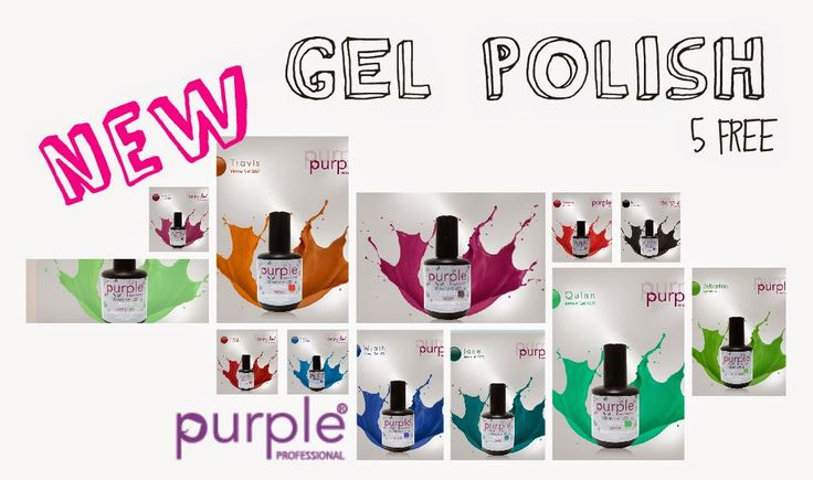 Betty Nails: NEW | Purple Professional GEL POLISH