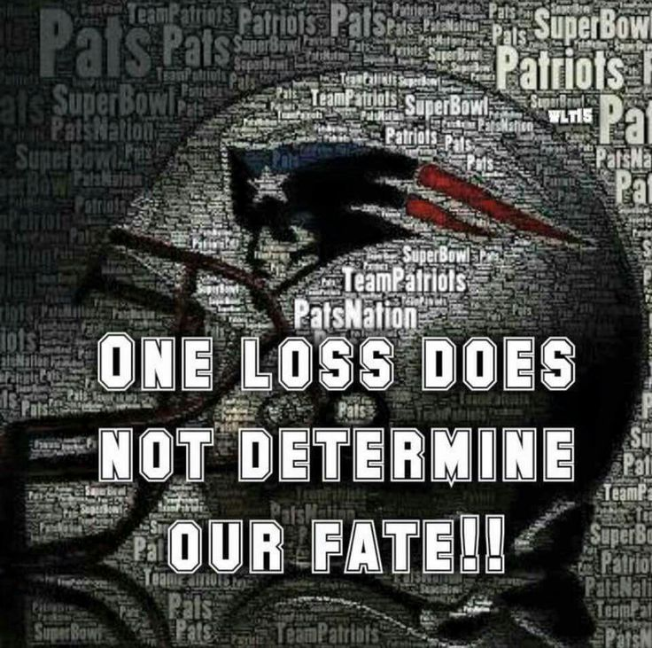 NE Patriots (Two losses are a bit of an issue)