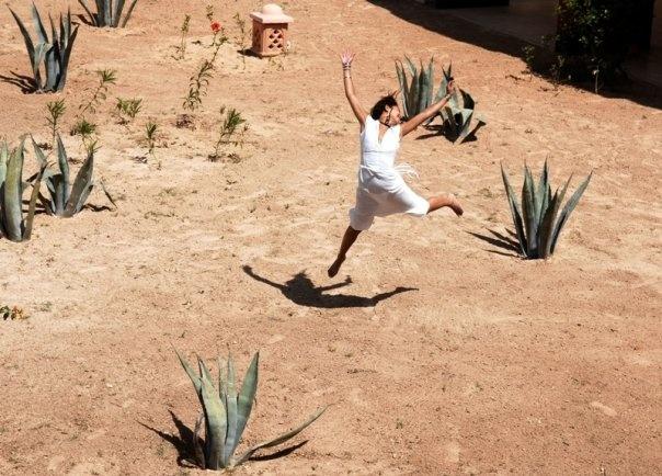 Moroccan world traveler: Leïla Ghandi #ivankatrumpshop