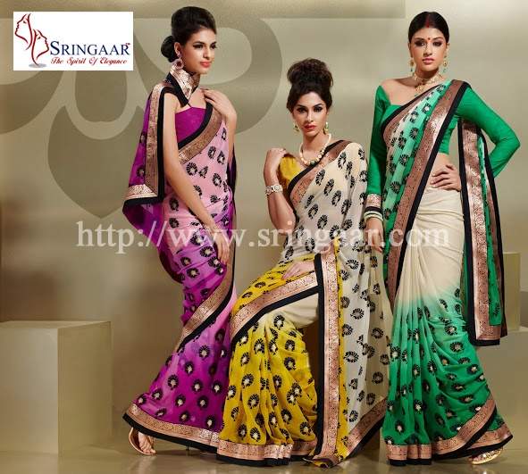 http://www.sringaar.com/buy/cheap-sarees-online.aspx - SRINGAAR is the Brand Name of Cheap sarees online also as well as, Sringaar, the Online Shopping store and chicest collection of latest saree, salwar, lehenga  and we deliver it right at your address all over world.