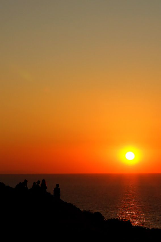 A dreamily sunset in Crete!