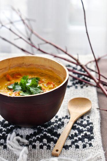 Soupe Laska (soupe au potimarron et épices) de Jamie Oliver