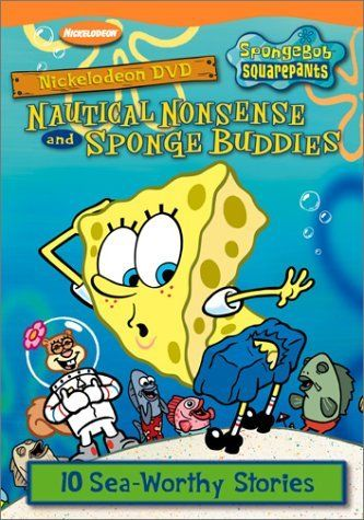 Spongebob Squarepants - Sponge Buddies/Nautical Nonsense by Tom Kenny @ niftywarehouse.com #NiftyWarehouse #Spongebob #SpongebobSquarepants #Cartoon #TV #Show