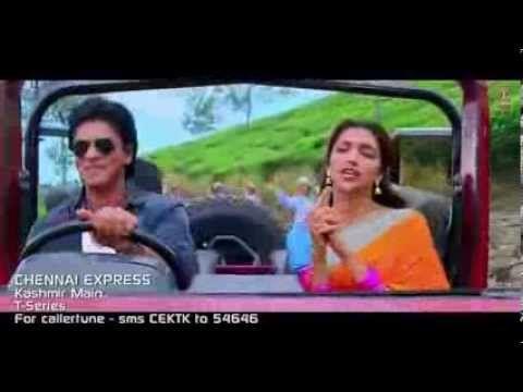 Kashmir Main tu Kanyakumari Full Video Song Chennai Express 2013 Shahrukh Khan, Deepika Padukone - YouTube