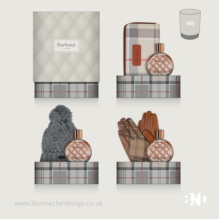 12 Days to Christmas How's your Christmas shopping coming along? Giftsets help attract a buyer by making a gift feel special. Depending on your product or target audience, a gift set design may feel like a cost risk. Have you considered giftset design for Spring, Summer, Autumn and Winter 2018 instead of targeting an event? Here's some concept designs we did for Barbour - ideal for Autumn and Winter or for a special person to find under their Christmas tree. #packaging #giftset…