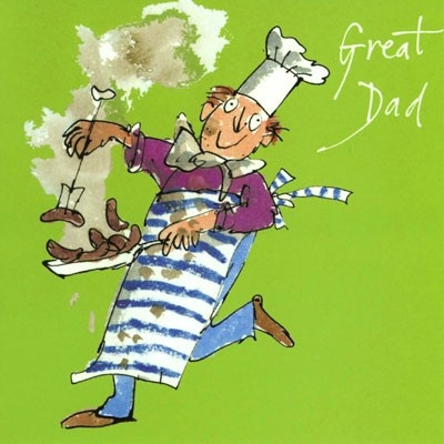 King of the BBQ by Quentin Blake