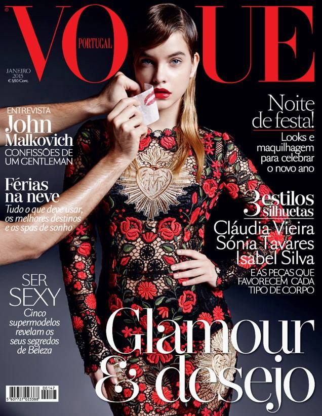 awesome Vogue Portugal January 2015 | Barbara Palvin  [Cover]