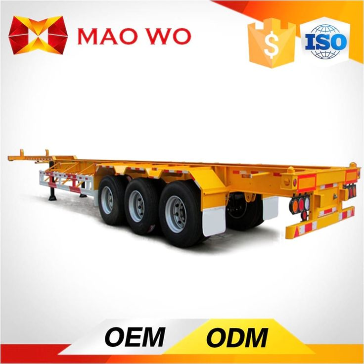 maowogroup.com Maowo gooseneck flatbed trailer is lighter than the flatbed trailer. With the special design, the height of center of gravity is decreased.