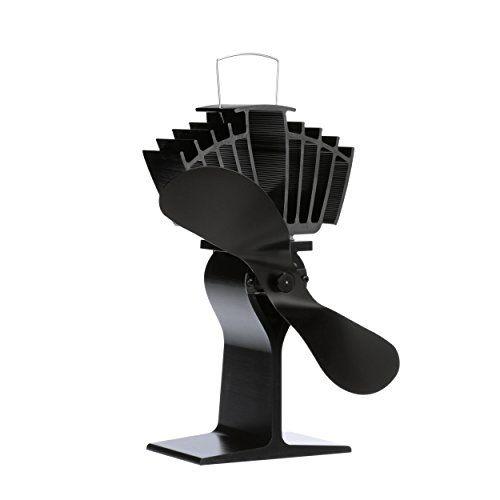 Ecofan 812AMXBX AirMax Large Heat Powered Wood Stove Fan, Made in Canada, Black #Ecofan #AMXBX #AirMax #Large #Heat #Powered #Wood #Stove #Fan, #Made #Canada, #Black