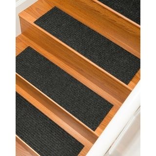 Shop For Halton Carpet Charcoal Stair Treads (Set Of 13) (2u0027 X