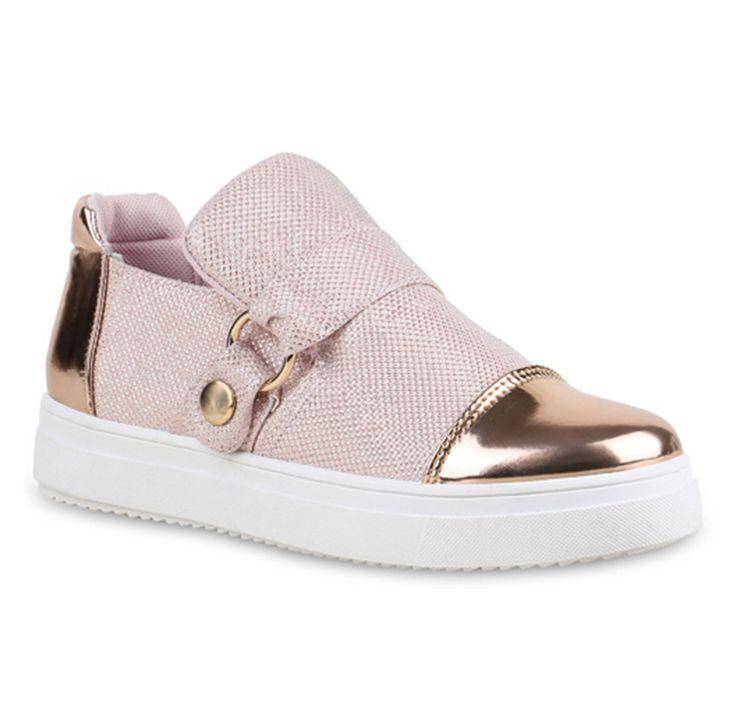 Hey, du rosarotes Schnuckelchen! Dank deiner Metallic-Kappen hinten und vorne gefällst du uns besonders gut. Wir wollen wir dich jetzt sofort in unserem Schuhschrank sehen! #habenwollen #stiefelparadies #sneakers