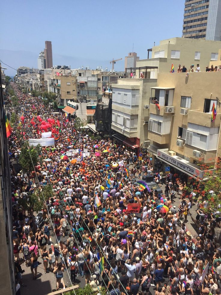Pride parade kicks off in Tel Aviv with anti-occupation protests
