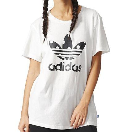 tee shirt femmes adidas