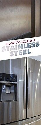 Need help cleaning stainless steel? Check out this tip from Simple Green.