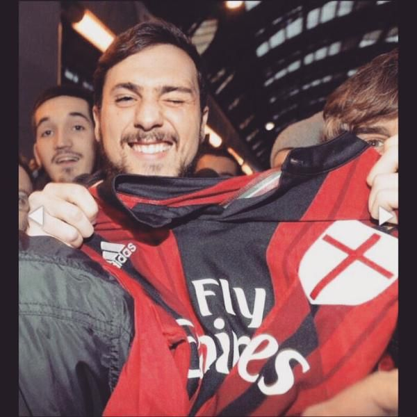 welcome to AC Milan Mattia Destro