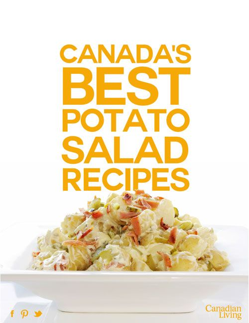 Canada's best potato salad recipes for Canada Day and beyond. #canadaday