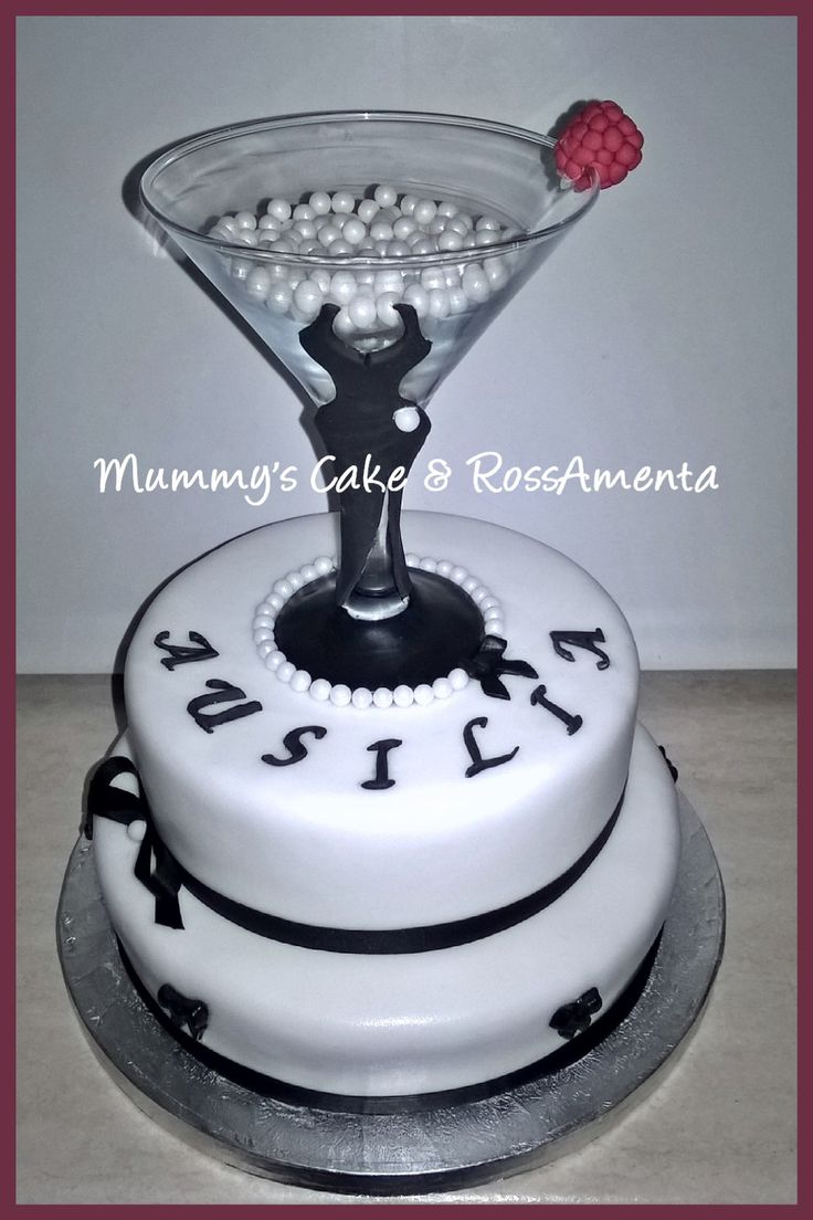 Lady Martini Cake