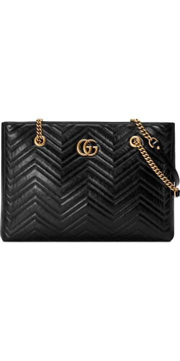 a2e9585eeb51 Gucci GG Marmont 2.0 Matelassé Medium Leather East/West Tote Bag | Nordstrom