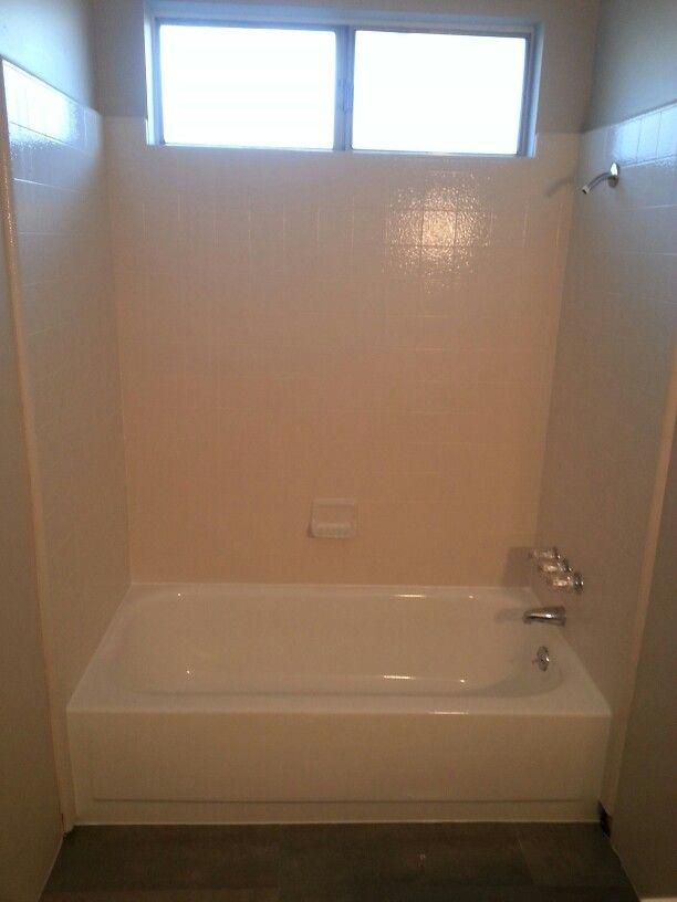 Cleaned, New Plumbing Trim U0026 Reglazed Bathtub   Looks As Good As New! #