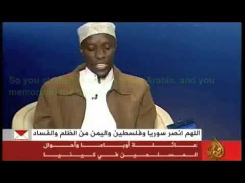 Obama's Cousin Interviews on Al Jazeera Part 2/3 The cousin speaks about how Obama is in contact with his Muslim family weekly. Hmmm.
