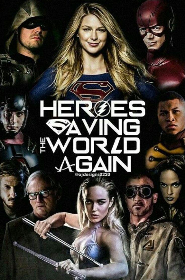 DC TV Shows Crossover Event with Flash, Supergirl, DC Legends of Tomorrow and Arrow - DigitalEntertainmentReview.com