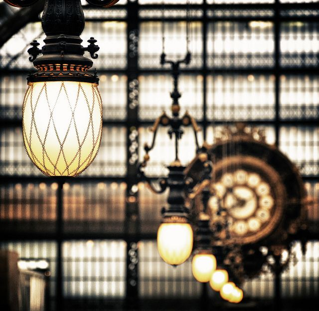 Orsay museum - The lamppost by Laurent photography, via Flickr